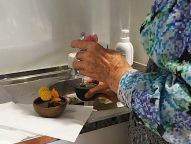 S様・女性・91歳 |大好きな花を通して季節を感じたい
