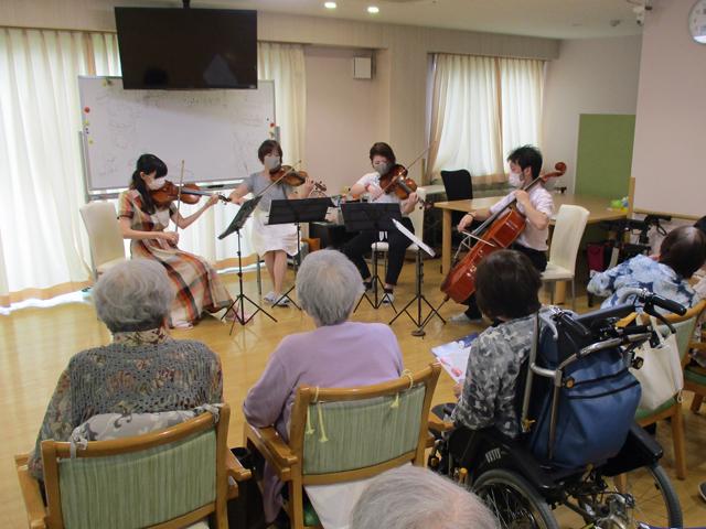 静岡交響楽団「心のコンサート」|デイサービスのレクリエーション