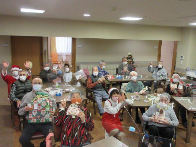 デイサービスクリスマス会|生活リハビリ厚原 デイサービスセンター
