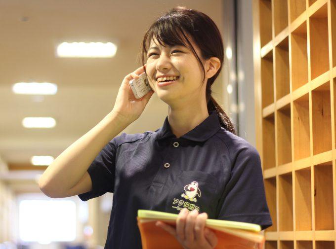 静岡市内の見守りサービス「ヘルパー通報」担当者
