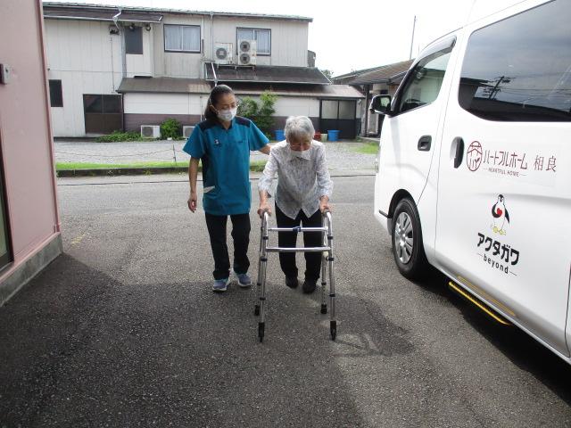 デイサービス_静岡 生活リハビリ 歩行訓練