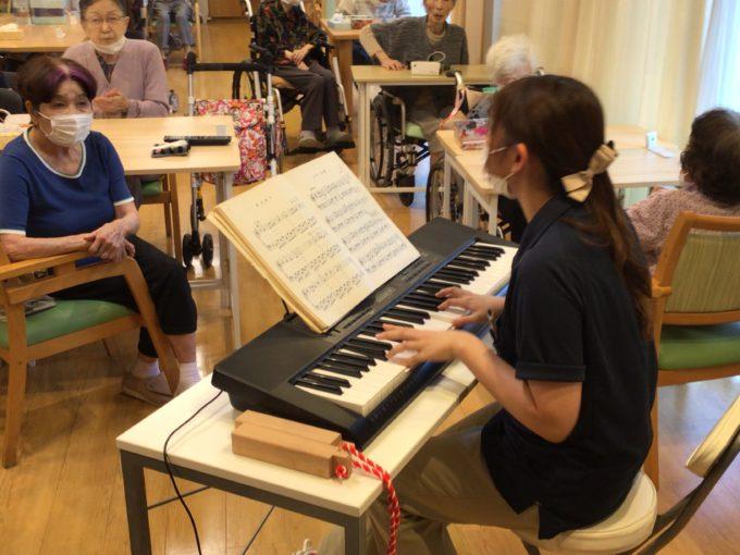押切デイサービス‗新企画「彩音楽教室」開催