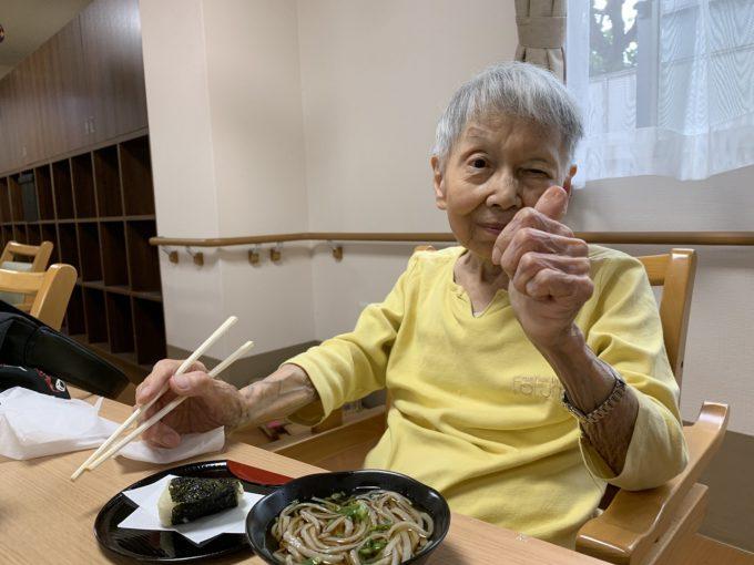 デイサービス藤枝_9月の蕎麦打ち