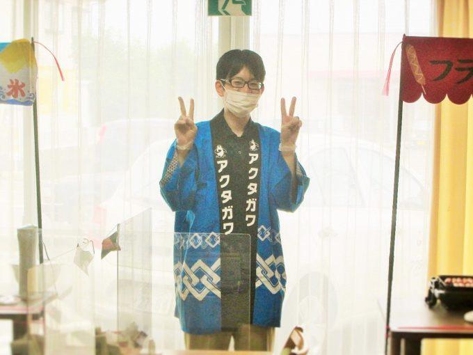 藤枝市デイサービス‗なつかしき屋台でお祭り気分