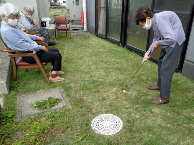 T様の目標: 大好きなゴルフをやりたいよ